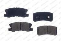 Rear Ceramic Pads RSD868CH