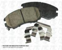 Rear Ceramic Pads PPC-D1093