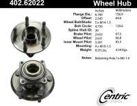 Rear Hub Assembly 402.62022