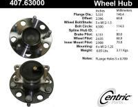 Rear Hub Assembly 407.63000