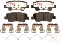 Rear Hybrid Pads