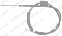 Rear Left Brake Cable