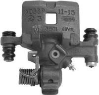 Rear Left Rebuilt Caliper With Hardware 18-4393