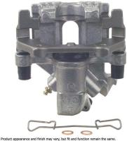 Rear Left Rebuilt Caliper With Hardware by CARDONE INDUSTRIES