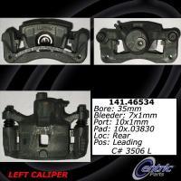Rear Left Rebuilt Caliper With Hardware 141.46534