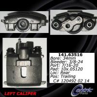 Rear Left Rebuilt Caliper With Hardware 141.63516
