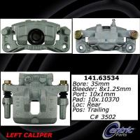 Rear Left Rebuilt Caliper With Hardware 141.63534