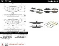 Rear Premium Ceramic Pads 301.05120