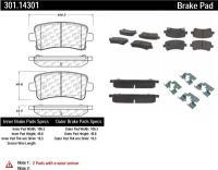 Rear Premium Ceramic Pads 301.14301