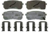 Rear Premium Ceramic Pads