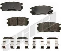 Rear Semi Metallic Pads ALD1275M