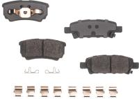Rear Semi Metallic Pads RSD1037MH