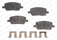 Rear Semi Metallic Pads RSD1093MH