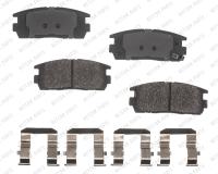 Rear Semi Metallic Pads RSD1275MH