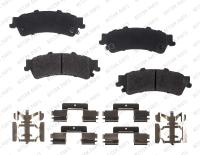 Rear Semi Metallic Pads RSD792MH