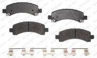 Rear Semi Metallic Pads RSD974MH