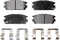 Rear Semi Metallic Pads PPF-D1275