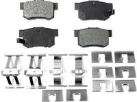 Rear Semi Metallic Pads