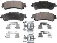 Rear Semi Metallic Pads PPF-D792