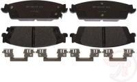 Rear Super Premium Ceramic Pads MGD1707CH