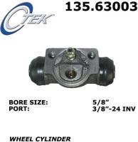 Rear Wheel Cylinder 135.63003