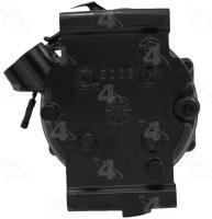 Remanufactured Compressor And Clutch 57582