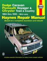 Repair Manual 30010