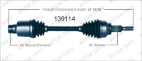 Right New CV Complete Assembly 139114