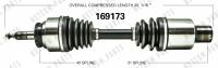 Right New CV Complete Assembly 169173