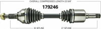 Right New CV Complete Assembly 179246