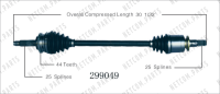 Right New CV Complete Assembly 299049