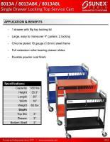 Service Cart SUN-8013ABL